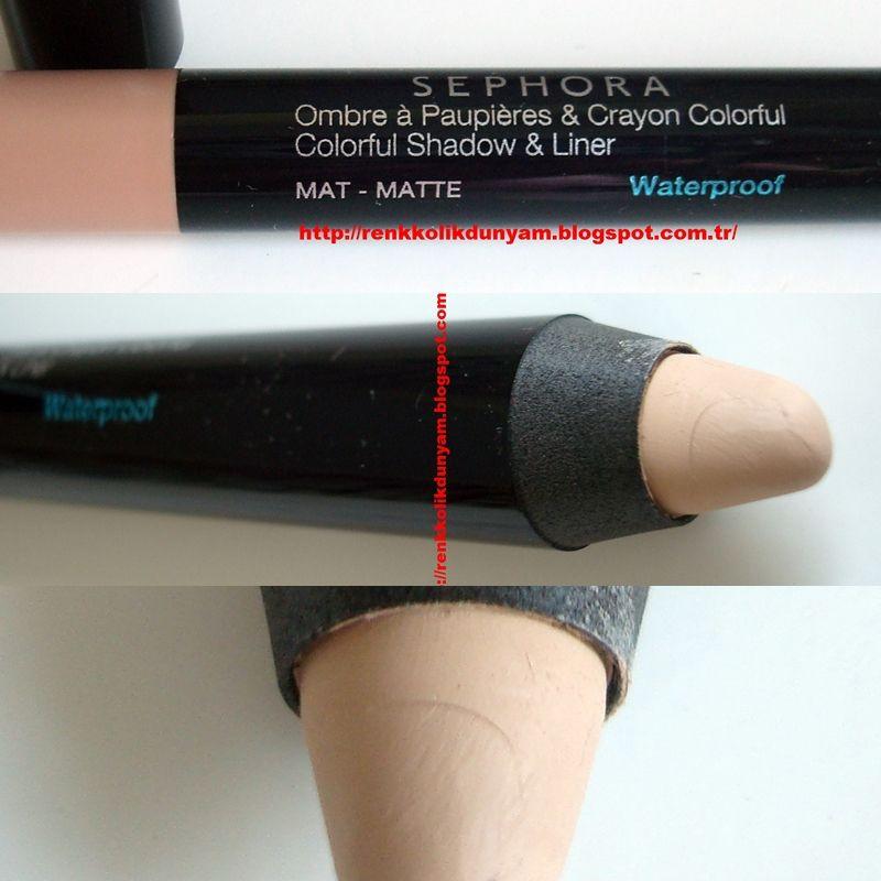 Sephora Colorful Shadow Amp Liner Matte Waterproof 33 Secret