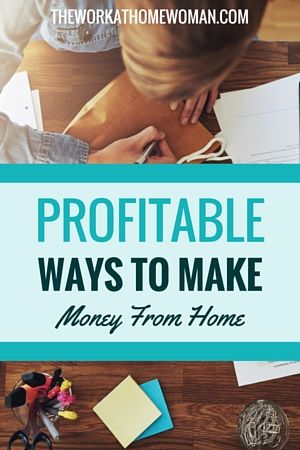 Profitable Ways To Make Money From Home Business Earn Money And