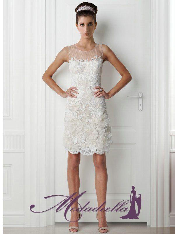 Vestidos de novia cortos, sencillo y moderno,vestidos 2013 | Ideas ...