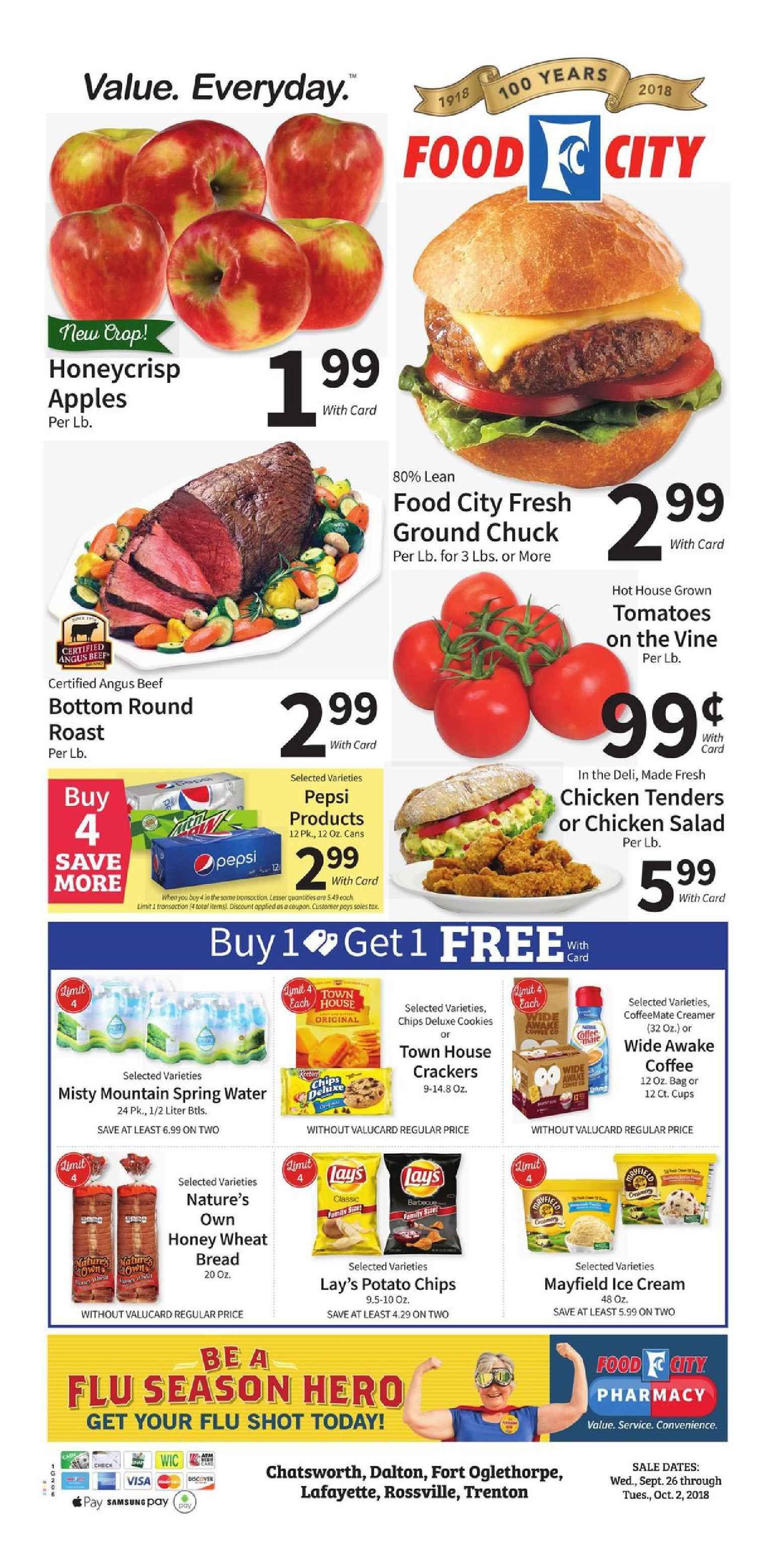 Food City Weekly Ad Flyer January 16 22 2019 Weekly Ad