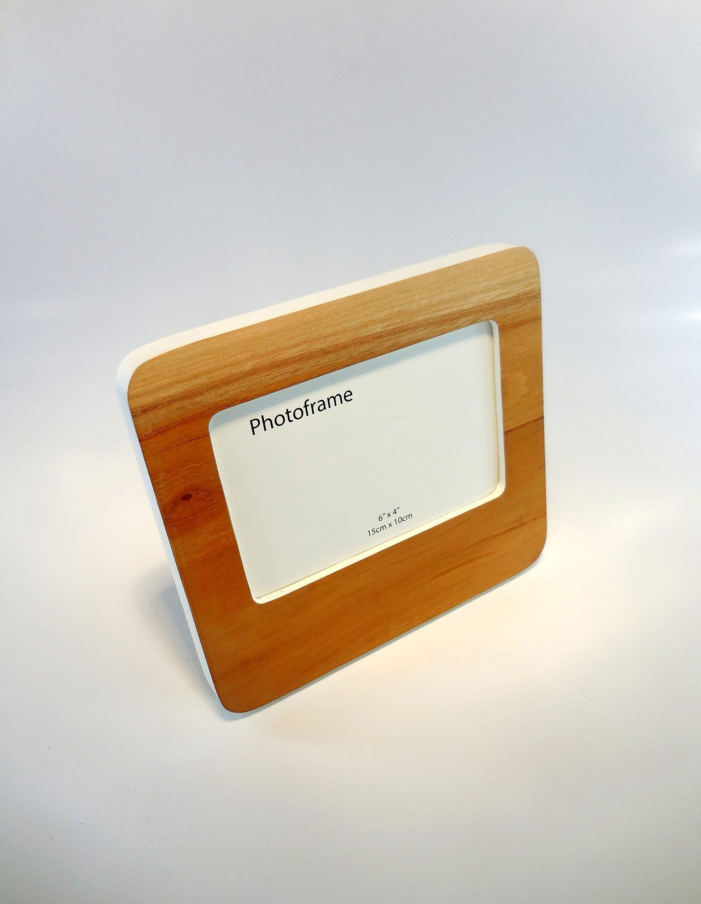 Natural Wood Frame Wooden Photo Frame Handmade Photo Frame 4x6