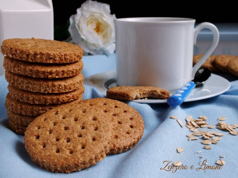 abbastanza Digestive integrali | Biscotti, Food and Biscotti biscuits QC56