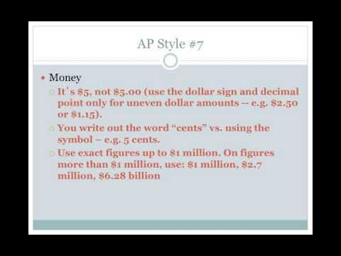 12 Rules of AP Style Feature writing Pinterest Curriculum - ap style resume