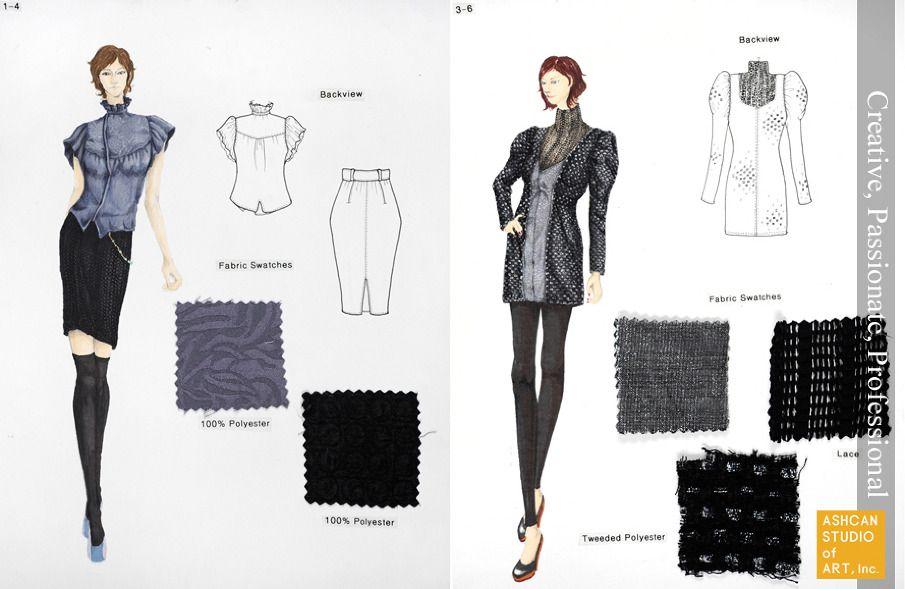 parsons fashion design portfolio examples fashion design portfolio