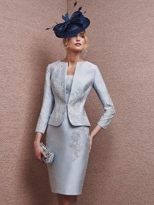 a4f8b8a1 Sheath/Column Scoop Knee-Length Sleeveless Applique Satin Mother Of The Bride  Dresses -
