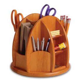 spinning desk organizer kitchen pantry pinterest wooden desk