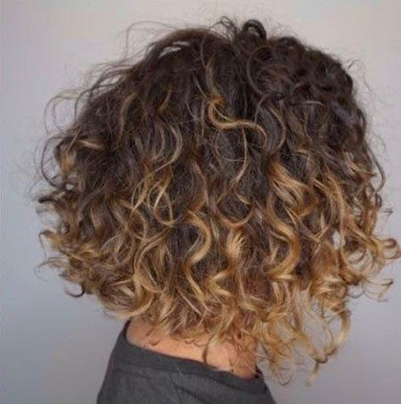 Dark Blonde Highlights Popular Short Curly Hairstyles 2018 2019 Curly Hair Styles Naturally Curly Hair Styles Hair Styles