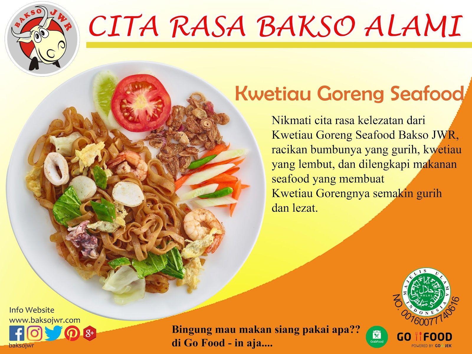 Kwetiau Goreng Terenak Di Jakarta Barat Makanan Makan Siang