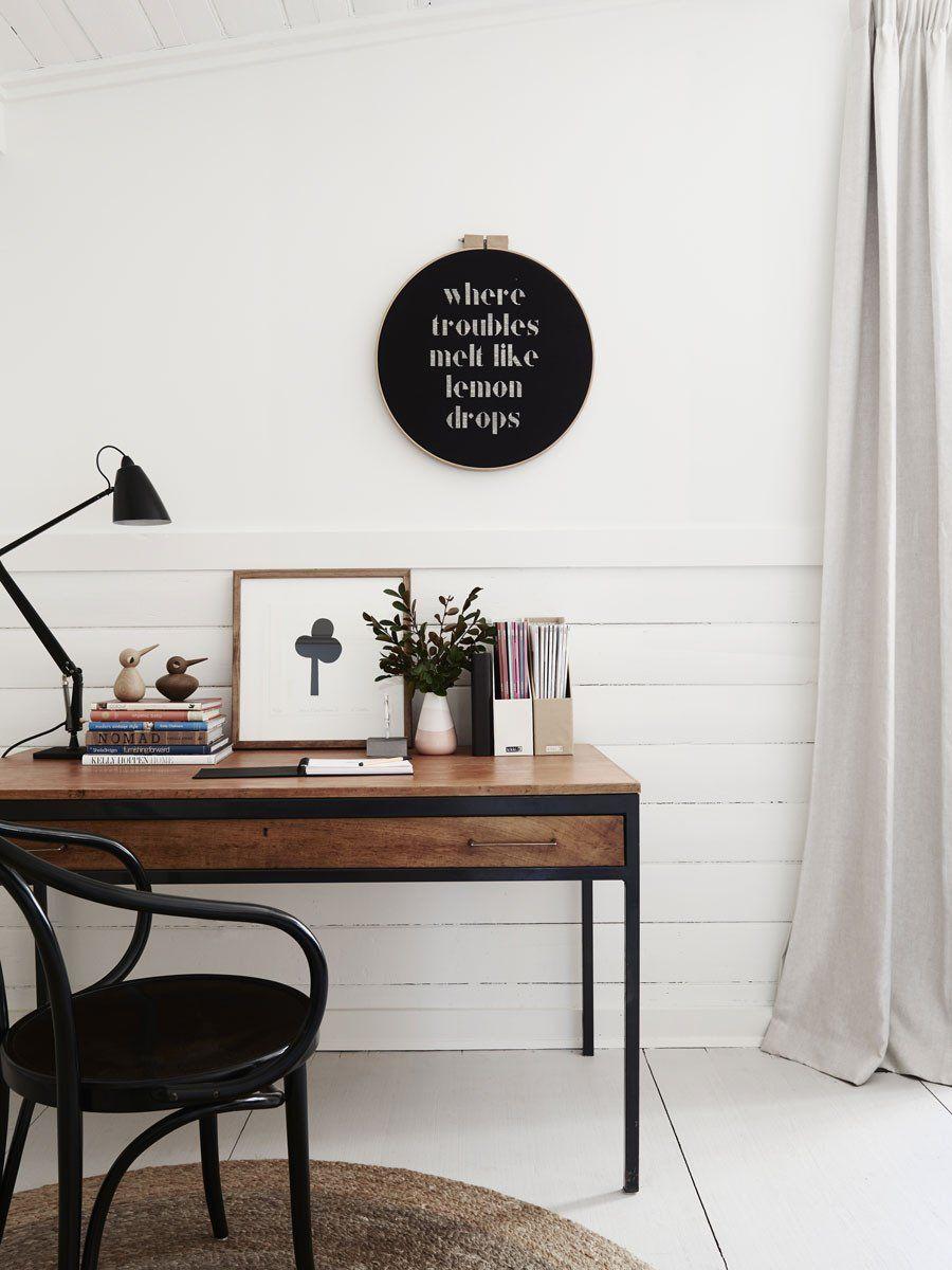 30 ides pour amnager un coin bureau dans un petit salon