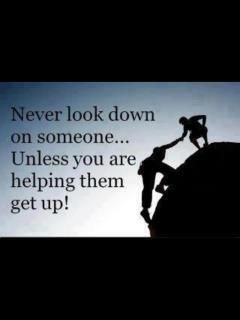 Never Look Down On Anybody Unless You Re Helping Them Up Jesse Jackson Leadership Quotes Thoughts Quotes Quotes To Live By