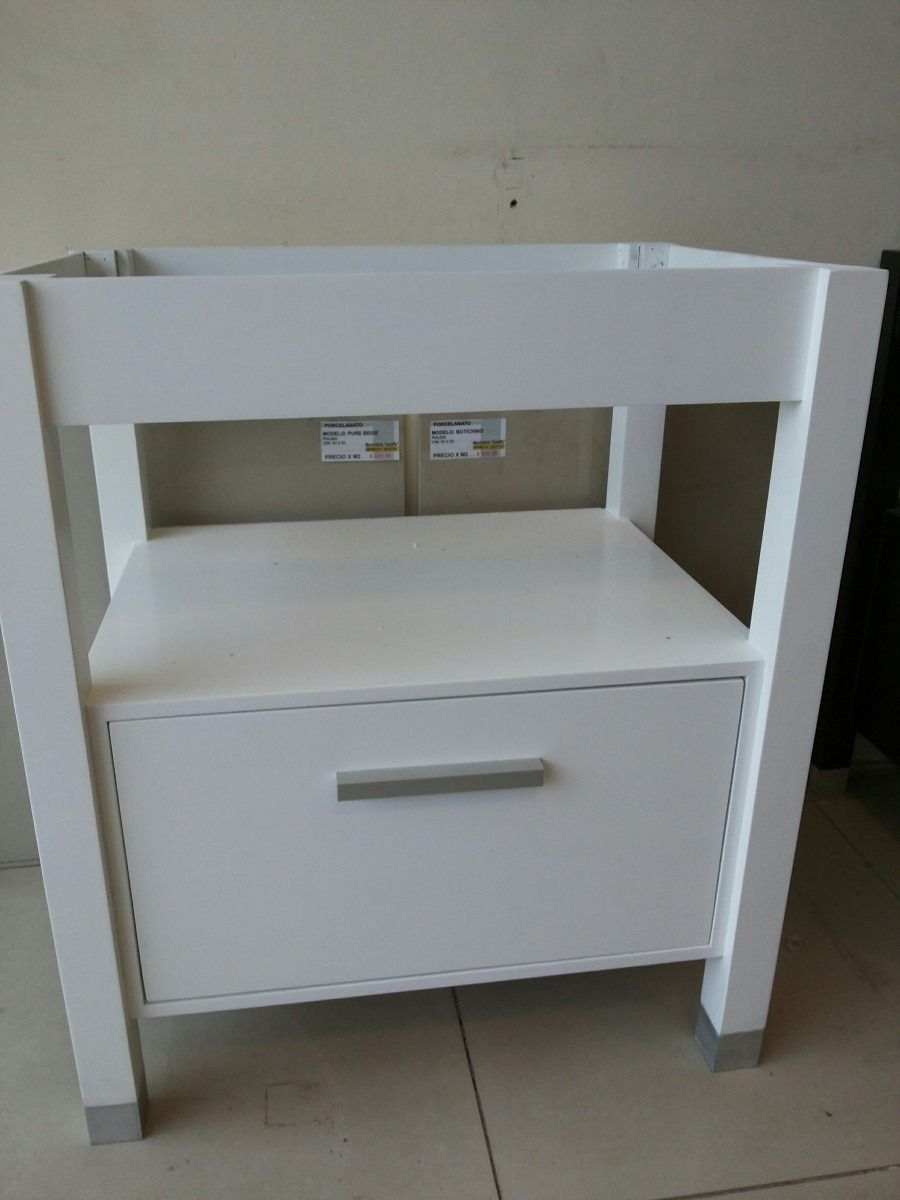 mueble para bano melamina y mdf laqueado en