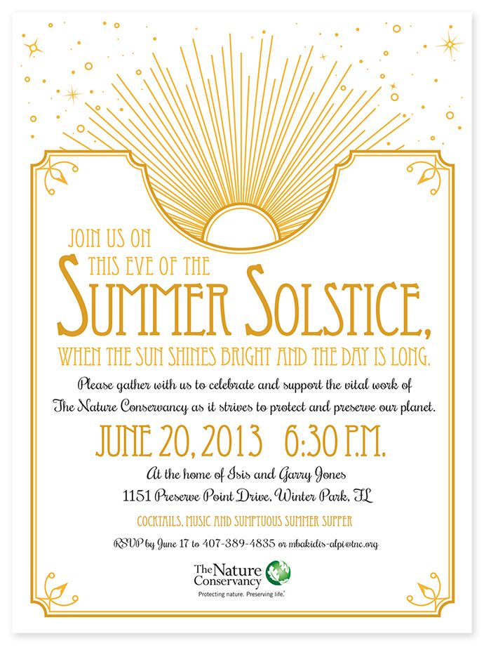 summer solstice party invite google search diy wedding
