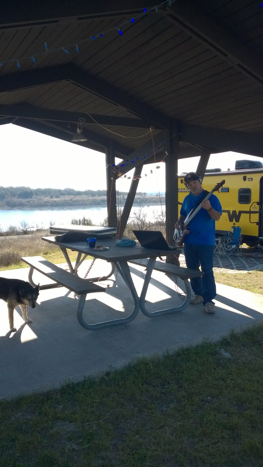 Lake Georgetown Jim Hogg Park. March 2015   Texas state ...