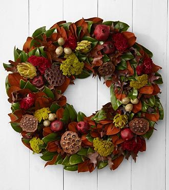 The FTD® Autumn Comforts Wreath by Better Homes and Gardens®