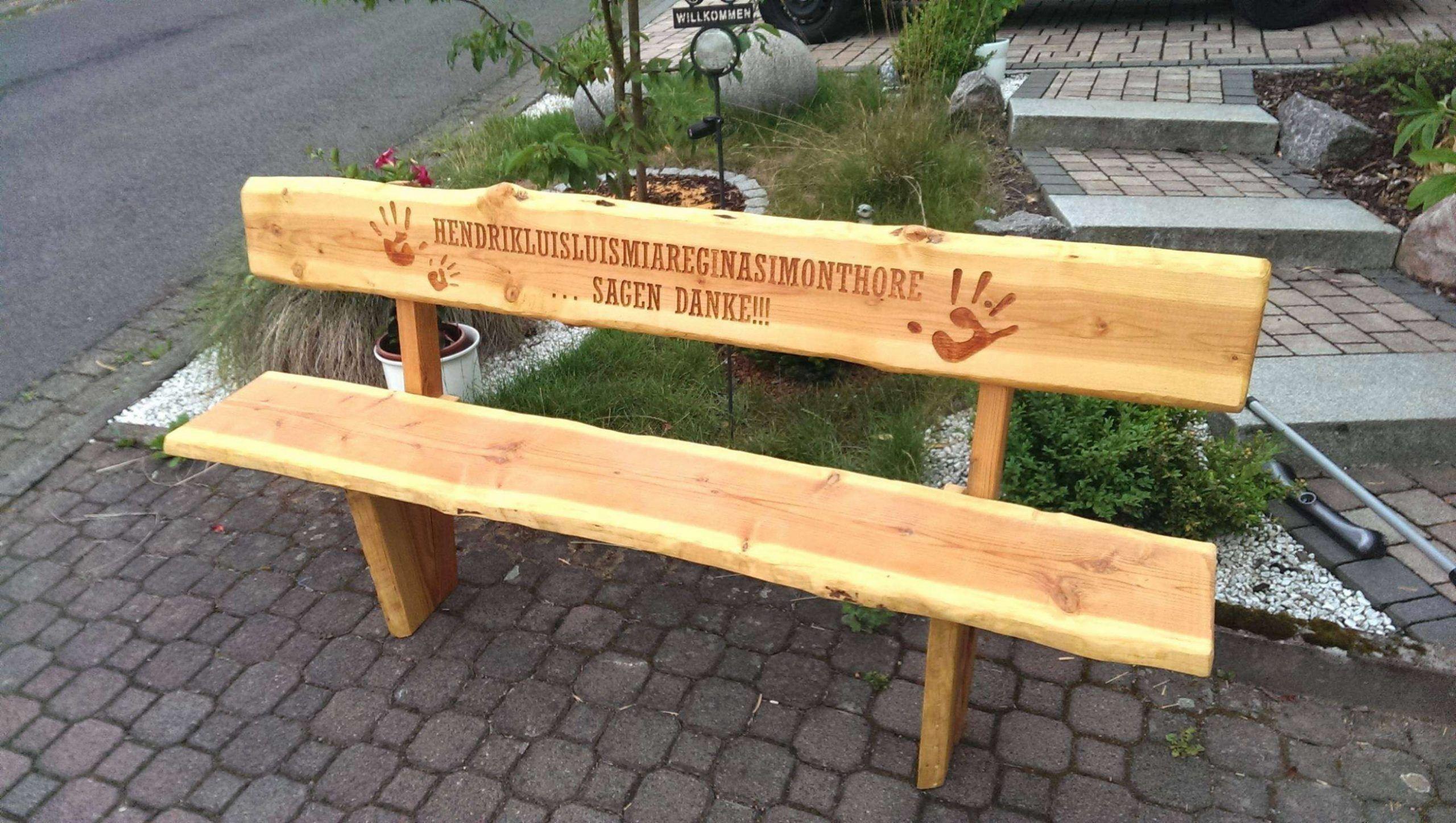 Holzbank Garten Rustikal Gartenbank Selber Bauen Holzbank Garten Gartenbank Holz Rustikal