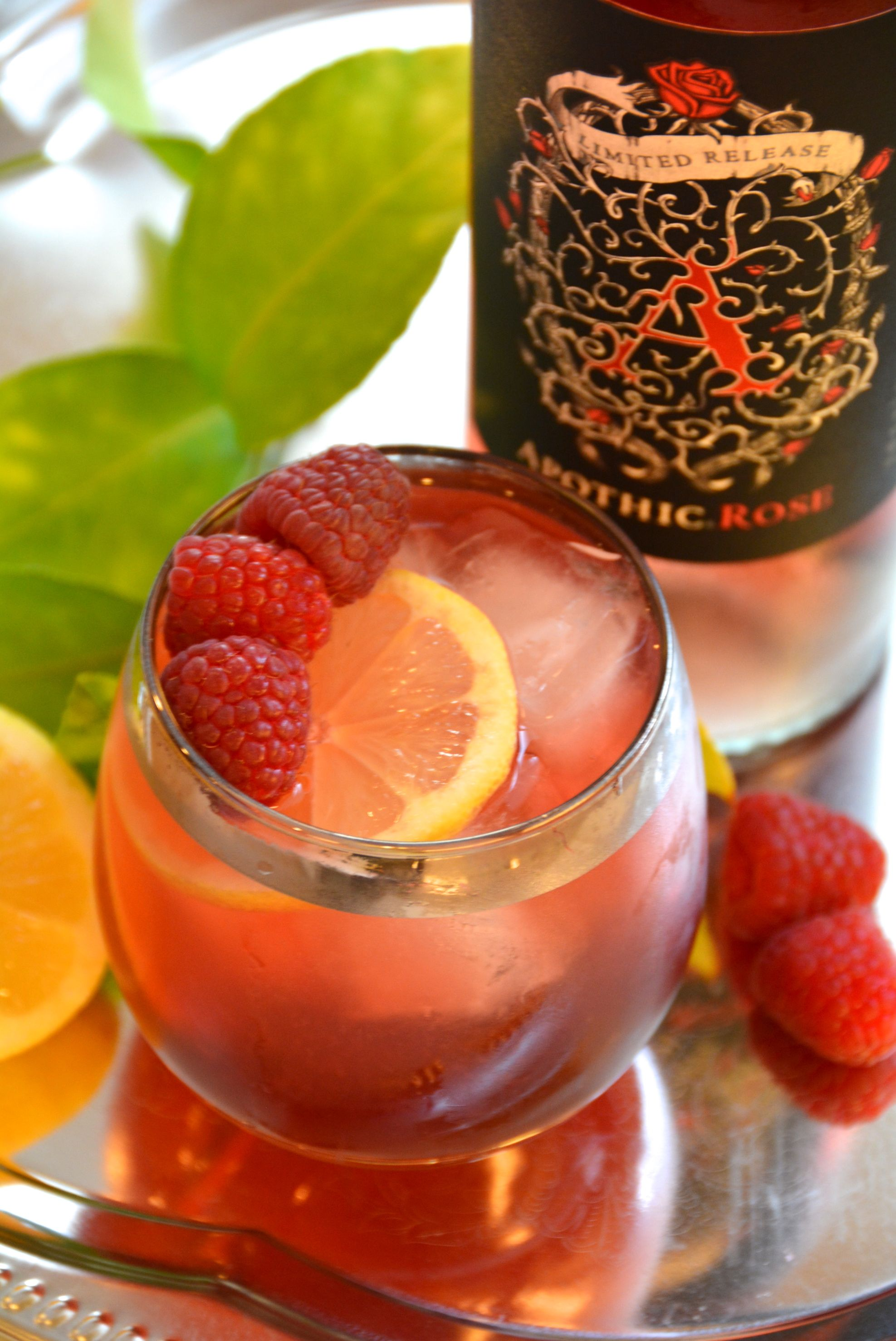 The perfect summer wine apothic rose apothic rose sangria recipe food forumfinder Images