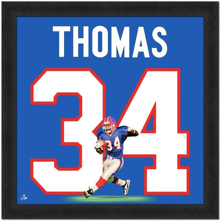 sneakers for cheap b7c69 397d0 Buffalo Bills Thurman Thomas Framed Jersey Photo | Products ...