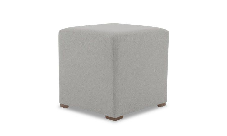Cort Cube Ottoman Ottoman French Country Bedrooms Modern Ottoman
