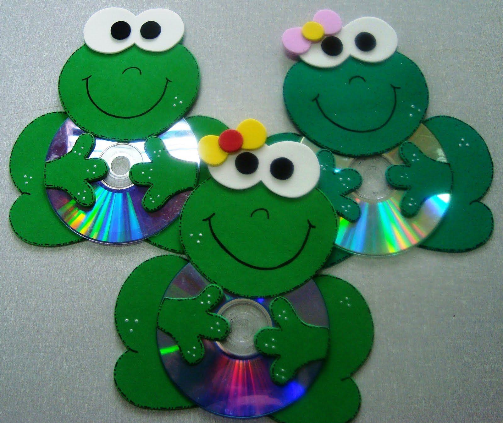 Manualidades cds cd pinterest manualidades ideas - Manualidades con cd usados ...