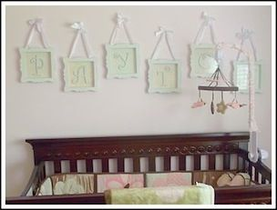 Another cute name display idea