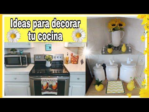 Decorando Mi Cocinaideas Sencillas Y Bonitas Para Tu Cocina