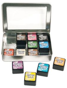 Le Bricottine Creative: Tim Holtz Mini Distress Ink Storage Tin