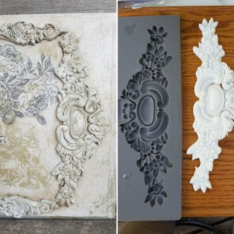Iron Orchid Designs Decor Moulds Are A Quick Easy And Affordable Way To Add Elegance To So Many Things Try Iron Orchid Designs Furniture Appliques Diy Decor