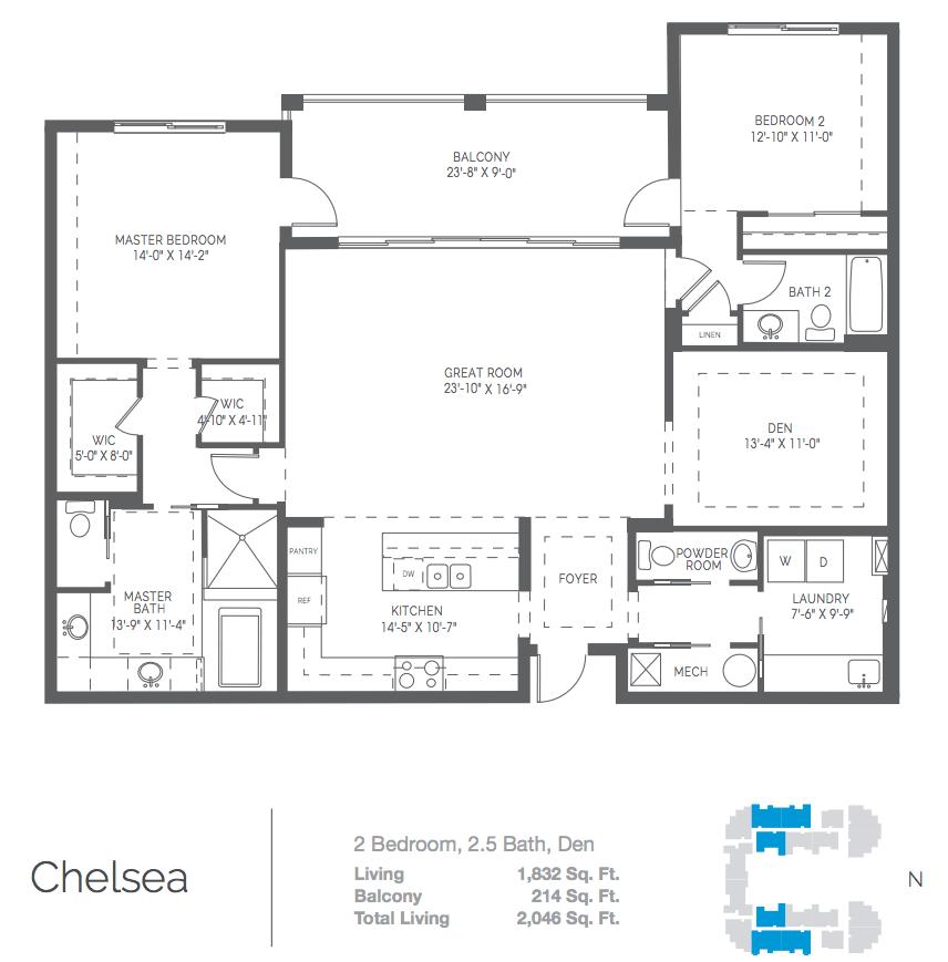 Chelsea Naples Square Floor Plans Garage Apartment Plans Beachfront Condo
