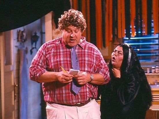 pin for later the best tv character halloween costumes roseanne dan and roseanne halloween - Tv Characters Halloween Costumes