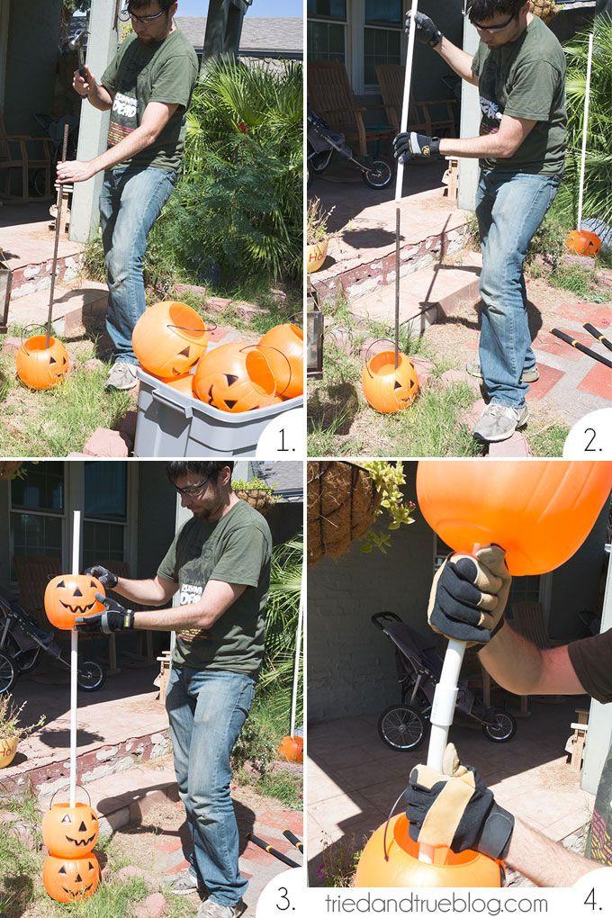 How to Make a Halloween Pumpkin Archway Diy halloween