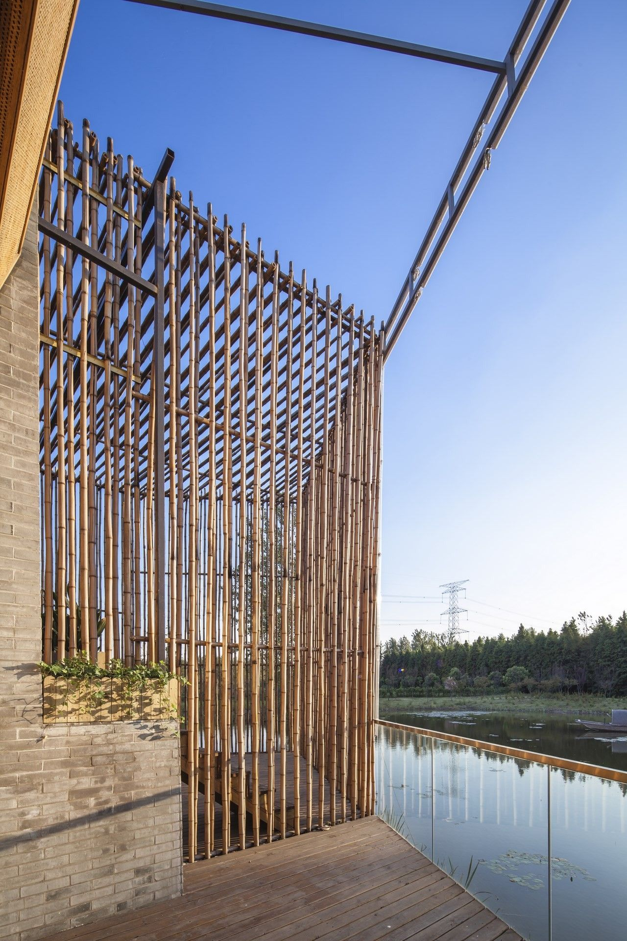 Gallery of Bamboo Courtyard Teahouse / Harmony World Consulting & Design – 11