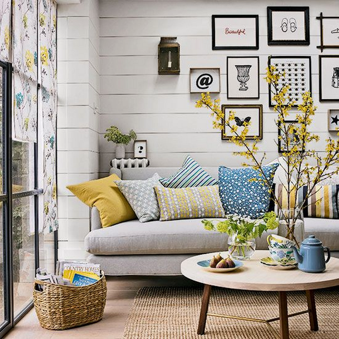 7 Awesome Small Living Room Ideas With Fireplace Living Room Decor Grey And Blue Living Room Decor Gray Blue And Yellow Living Room