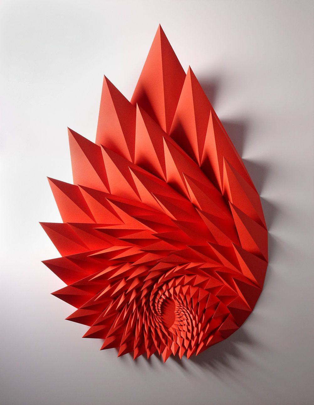 Unholy 116 Your Other Left Hand Paper Sculpture Paper Art Sculpture Paper Wall Art