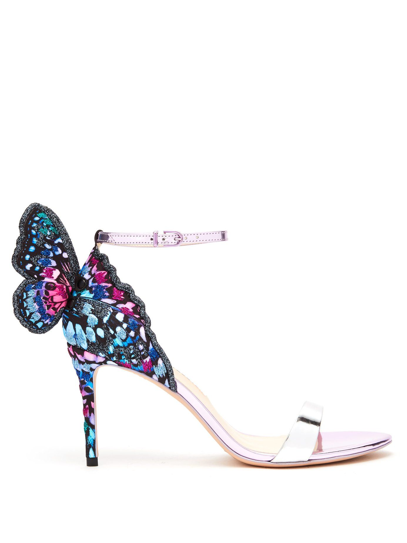 9bd386ff790a Chiara butterfly-wing leather sandals