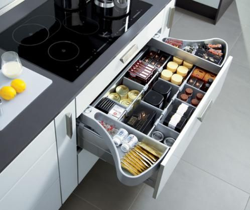6 Tips to Organise Your Kitchen, my favorite: create \