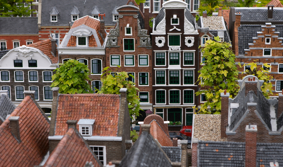Amsterdam's rooftops. #greetingsfromnl