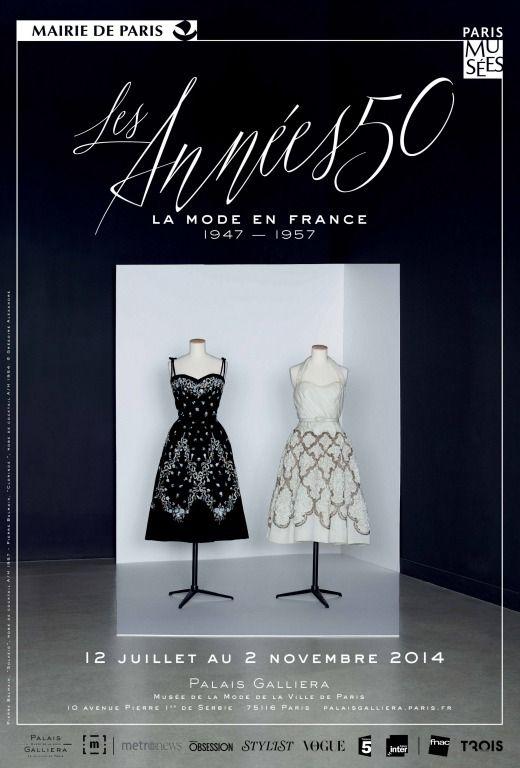 b74a39f0e535f Musée Galliera – Les Années 50, la mode en France 1947-1957 du 12 07 au  2 11 2014