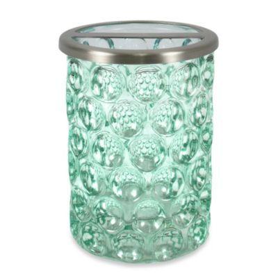 Buy Crystal Ball Glass Bathroom Toothbrush Holder In Aruba From Bed Bath U0026  Beyond