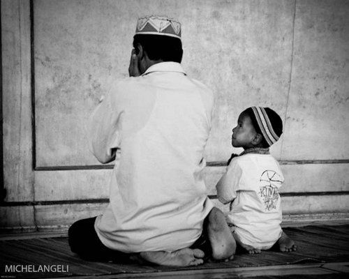 Image result for muslim father and son