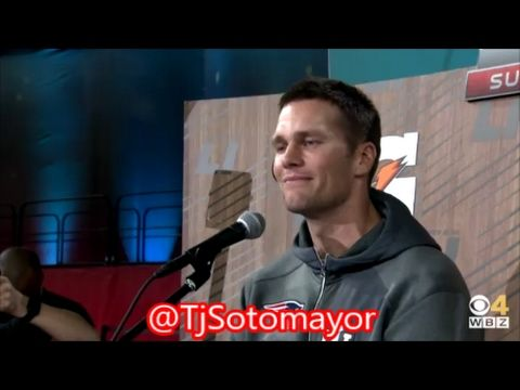 Tom Brady Breaks Down Talking About His Father During Superbowl Interviews!