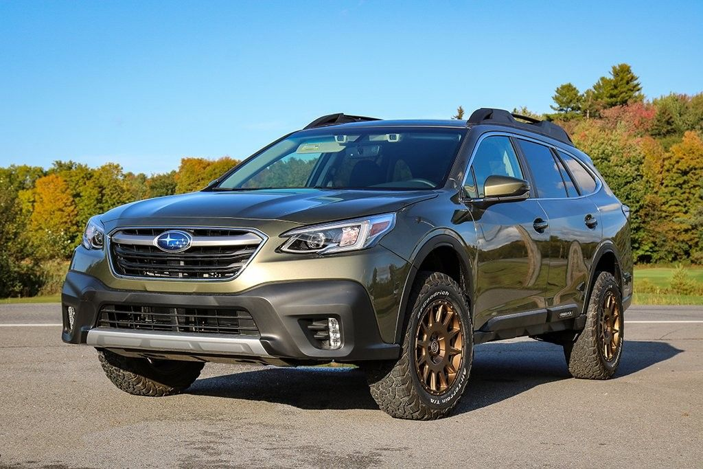 Subaru Outback 2020 Off Road Lift Kit And All Terrain Wheels Subaru Outback Offroad Subaru Outback Subaru