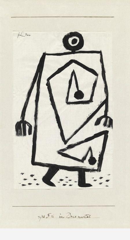 Sous cape Klee 1938