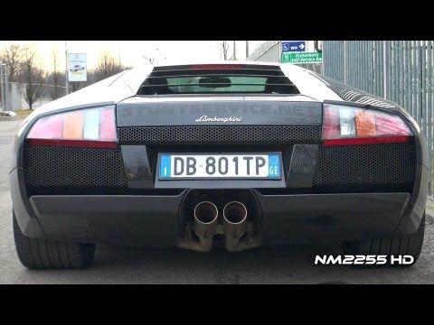 Lamborghini Murcielago With Milltek Exhaust Loud Sound Vehicles