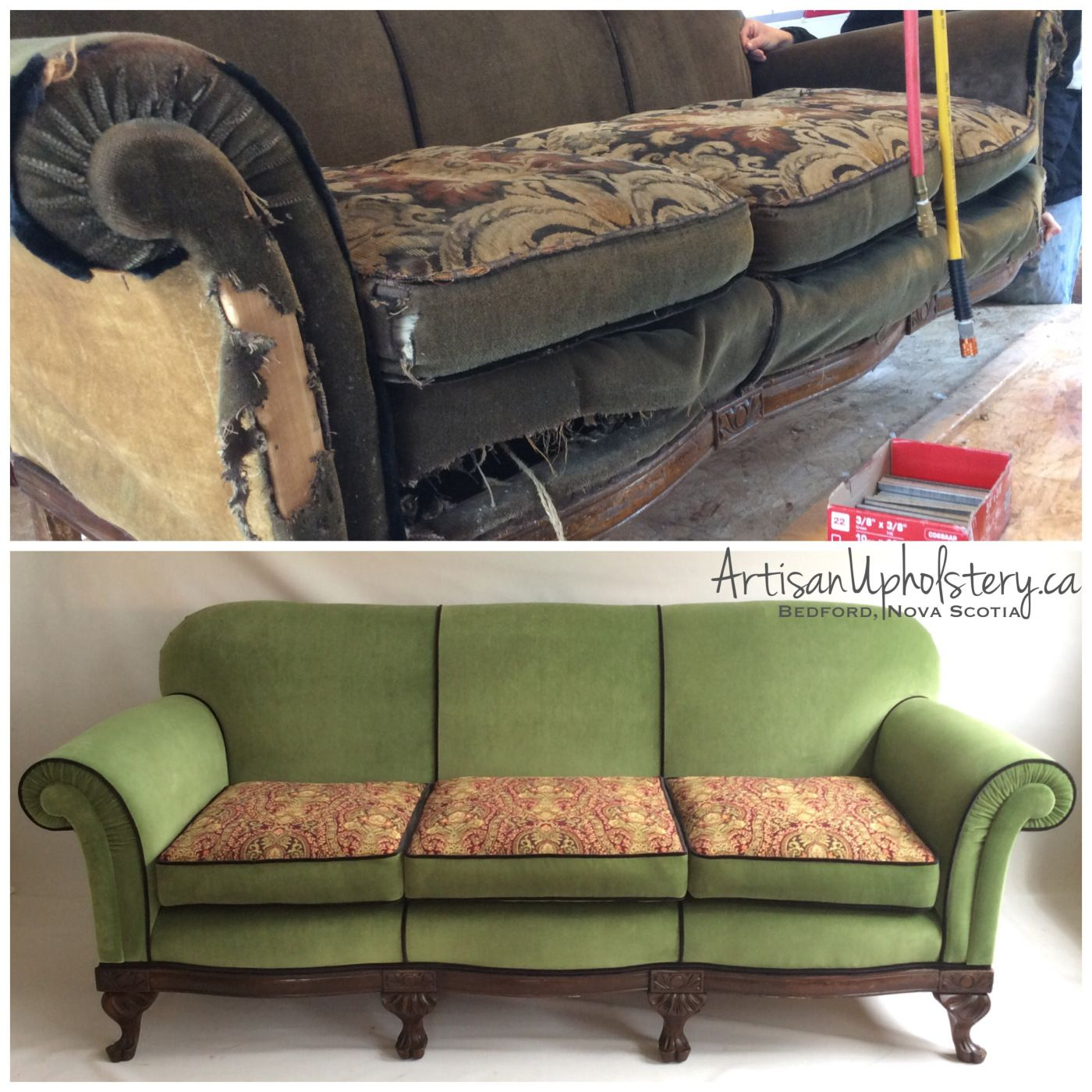 New Artisan Upholstery Has A Youtube Channel In A Few Of My