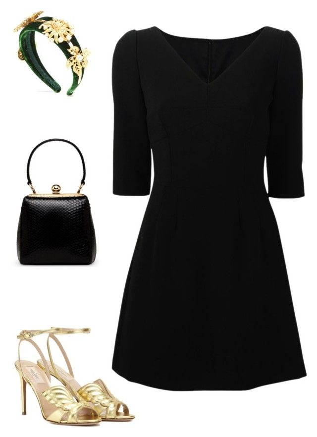"""Cacciatore"" by mechi13 ❤ liked on Polyvore featuring Dolce&Gabbana and Valentino"
