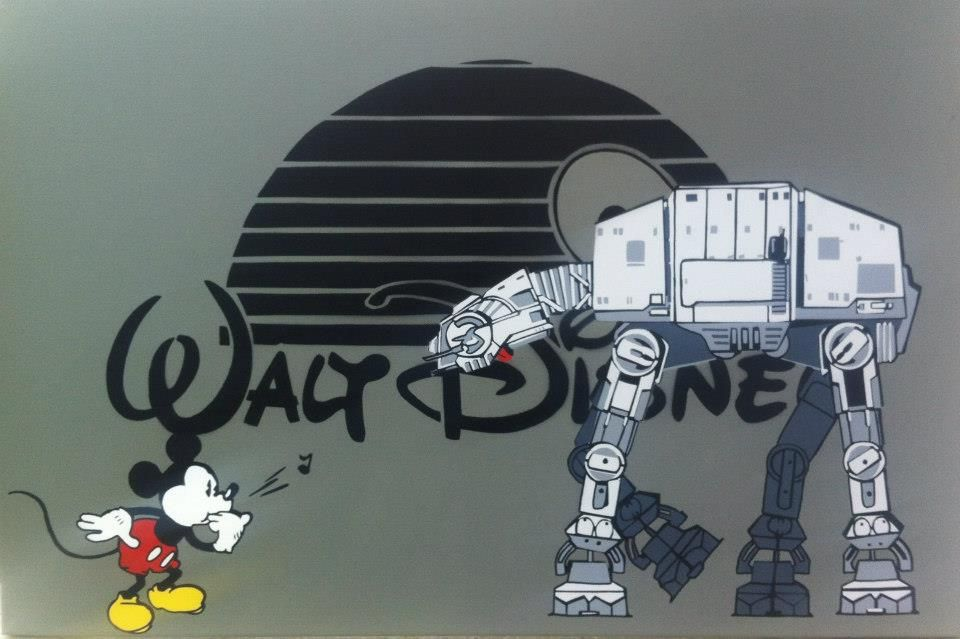 Walt Disney, Mickey Mouse and Star Wars