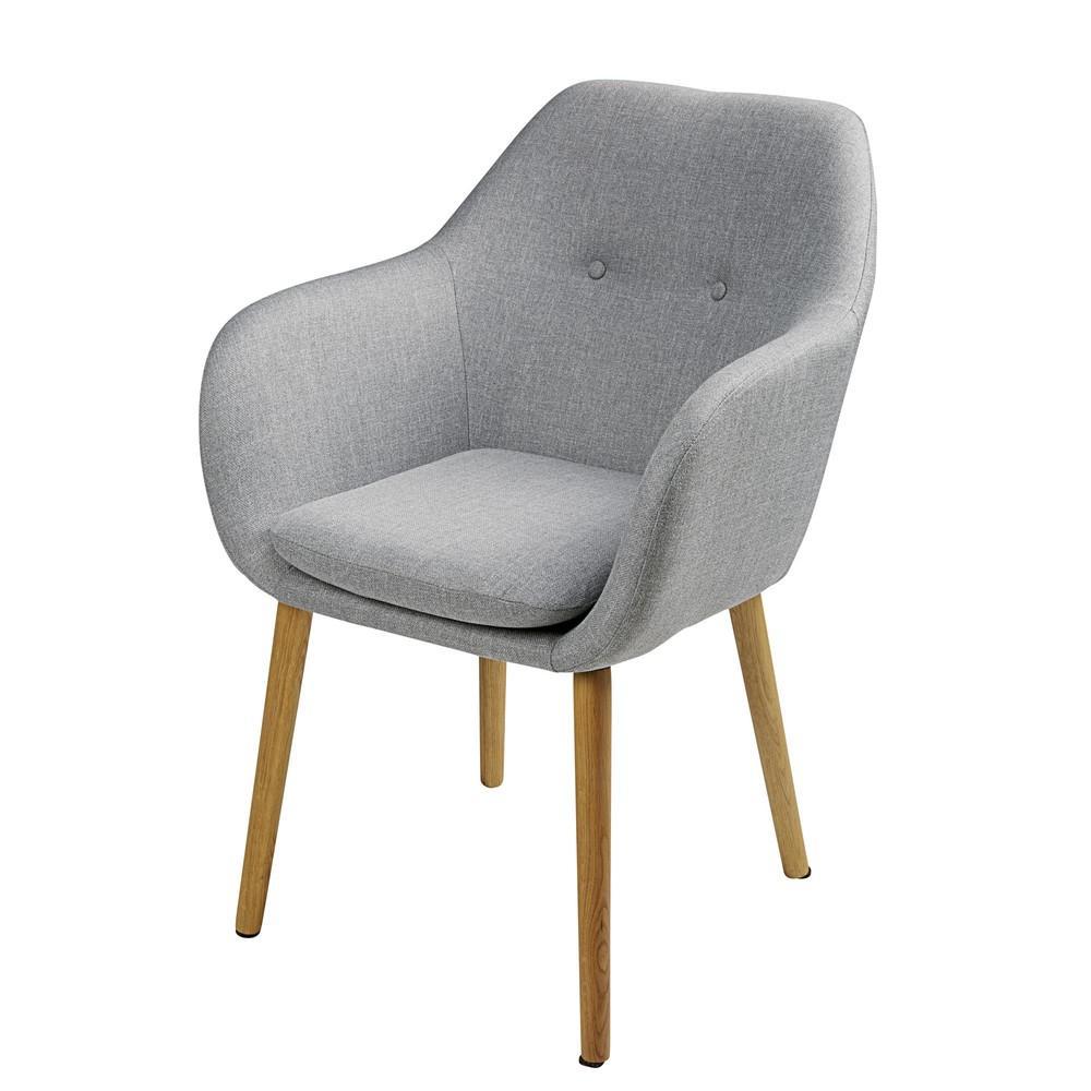 Fauteuil gris vintage 2019Fauteuil clair en retro 5RLq4Aj3cS