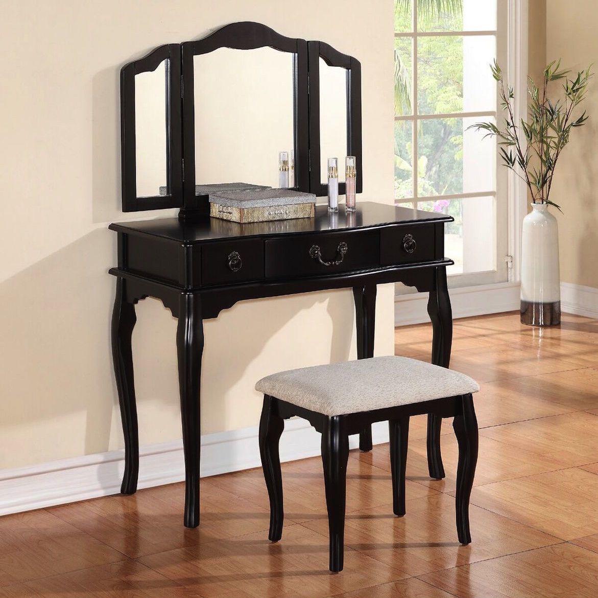 Esther vanity set with mirror mirror vanities and vanity set