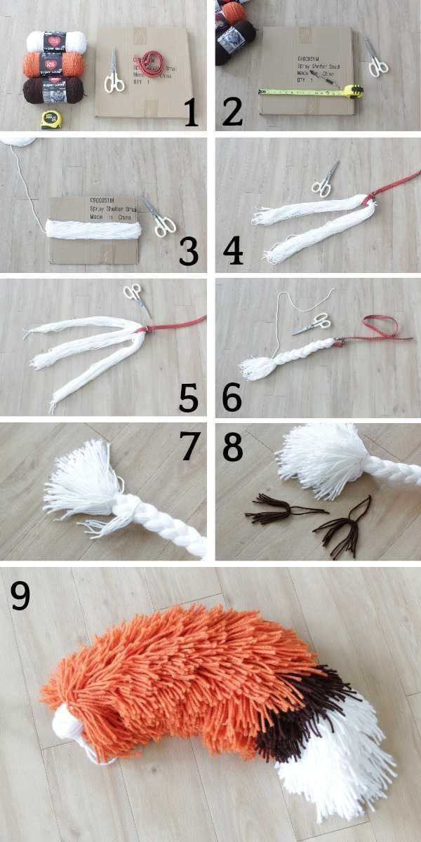 Photo of Wie man aus Garn einen Fuchsschwanz macht [With Pictures] – Kinder Blog