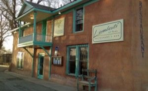 Lamberts is an upscale restaurant, close the the Plaza, the Bent House, and within walking distance of our house.